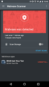 screenshot of Mobile Security & Antivirus version 3.2.61.19