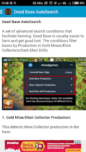 screenshot of Mod X for COC version 1.2.0