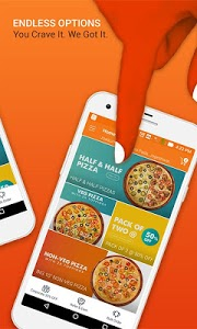 screenshot of MOJO Pizza - Order Pizza Online | Pizza Delivery version 1.0.48