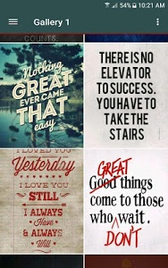 screenshot of Motivational Quotes Wallpapers version 1.2