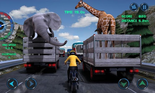 screenshot of Moto Traffic Race version 1.21