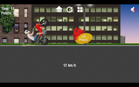 screenshot of Moto Wheelie 2 version 0.0.4