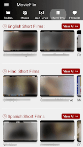 screenshot of MovieFlix - Movies & Web Series in HD version 3.0.1