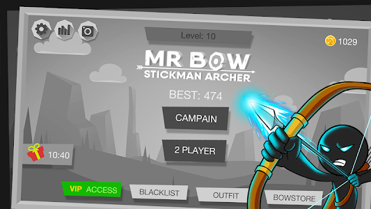 screenshot of Mr Bow version 2.03