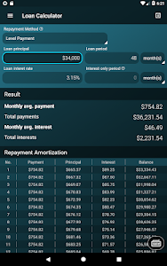 screenshot of Multi Calculator version 1.6.12