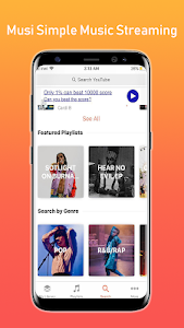 screenshot of Musi : Simple Music Streaming Advice version 1.7