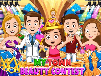 screenshot of My Town : Beauty Contest - FREE version 2.01