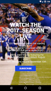 screenshot of NFL Game Pass Europe version Varies with device