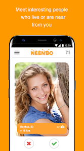 screenshot of Neenbo - chat, dating and meeting version 4.4.4
