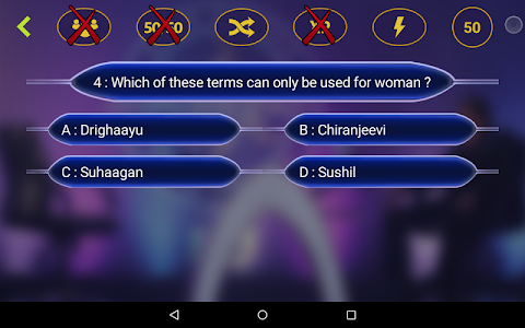screenshot of New Crorepati 2017 : Hindi & English Quiz Game version 1.3