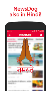 screenshot of NewsDog - Daily News version 2.1.0