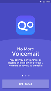 screenshot of No More Voicemail version 1.0.3