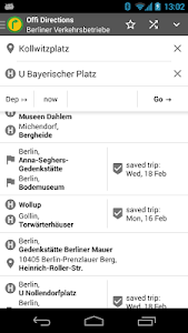 screenshot of Offi - Journey Planner version 10.5.5-google