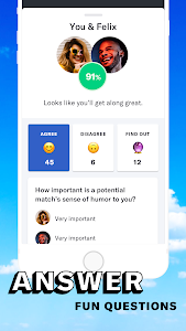 screenshot of OkCupid - The #1 Online Dating App for Great Dates version 30.1.1