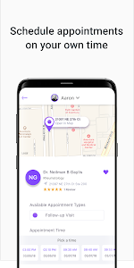 screenshot of OpenMed: Doctors Near Me & Online Appointment version 2.0.311-master