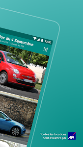 screenshot of OuiCar : location de voiture version 6.5.1