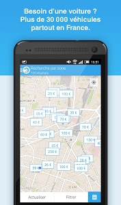 screenshot of OuiCar : location de voiture version 2.5.0