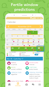 screenshot of Ovia Fertility: Ovulation & Period Tracker version Varies with device
