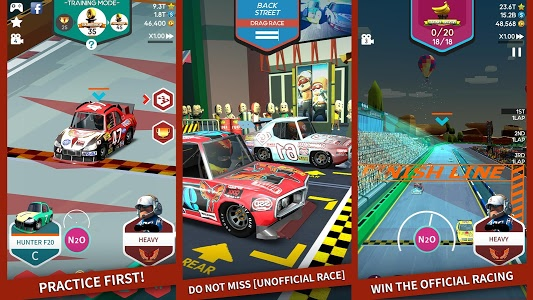 screenshot of PIT STOP RACING : MANAGER version 1.5.0