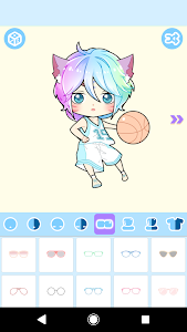 screenshot of Pastel Avatar Maker: Maker Your Own Pastel Avatar version 1.0.3