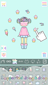 screenshot of Pastel Girl version 2.3.5