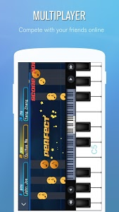 screenshot of Perfect Piano version 7.5.2