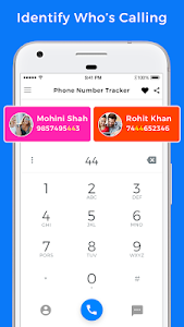 screenshot of Phone Number Tracker version 3.1