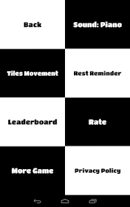 screenshot of Piano Tiles version 1.0.7(c)