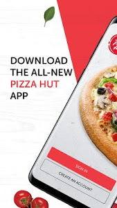 screenshot of PizzaHut UAE version 1.5