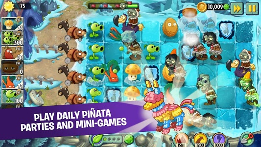 screenshot of Plants vs Zombies 2 Free version 7.2.1