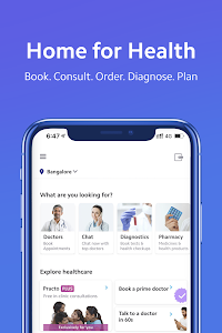 screenshot of Practo - Book Doctor Appointments & Consult Online version 4.42.3