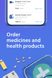 screenshot of Practo - Consult Doctors Online & Order Medicines version 4.35.1