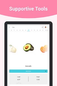 screenshot of Pregnancy + version Varies with device