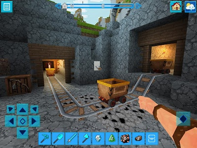 screenshot of PrimalCraft: Cubes Craft & Survive Game version 3.3.1