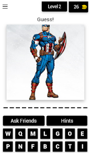 screenshot of Quiz for Avengers version 4.1.0z