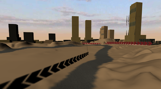 screenshot of ROXCS(RACING OF EXTREME CARS) version 0.3