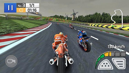 screenshot of Real Bike Racing version 1.0.9