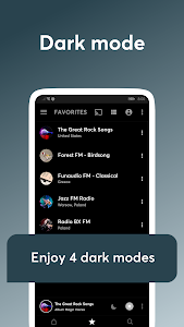 screenshot of Internet Radio & Radio FM Online - Replaio version 2.4.7