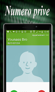 screenshot of Reveler le nom anonyme prank version 1.0