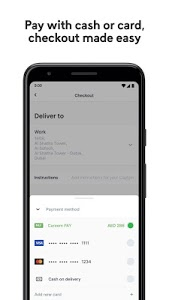 screenshot of Careem NOW: Food Delivery version 13.0.0
