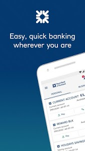 screenshot of Royal Bank of Scotland Mobile Banking version 06.04.0000.191.0