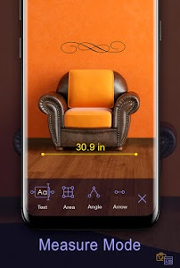 screenshot of Ruler App – Camera Tape Measure version 5.1.9