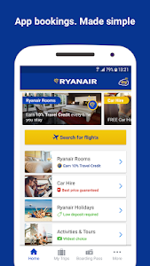 screenshot of Ryanair - Cheapest Fares version 3.57.1