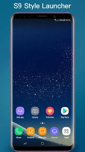 screenshot of S Launcher - S10/S9/S8 Launcher, S10 theme, cool version 6.9