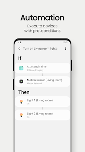 screenshot of SmartThings version 1.7.29-66
