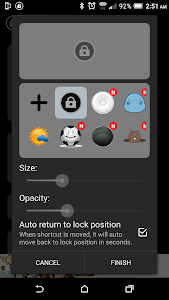 screenshot of Screen Lock (one touch to lock screen) version 6.0