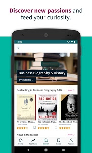 screenshot of Scribd - Reading Subscription version Varies with device