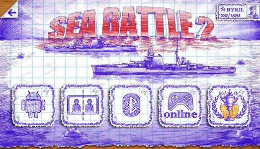 screenshot of Sea Battle 2 version 1.4.6