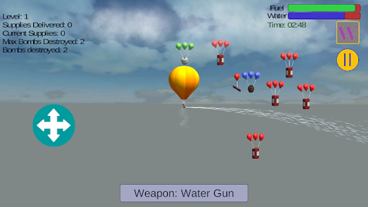 screenshot of Sky Balloon Missions version 1.1.0