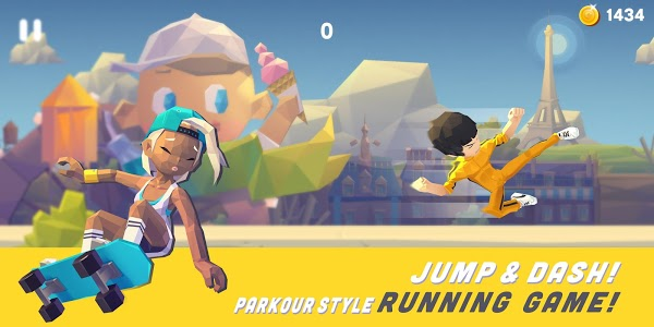 screenshot of Smashing Rush : Parkour Action Run Game version 1.6.8